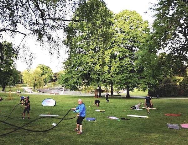 Sport im Park mit Crossout Bürgerpark / Oetkerpark
