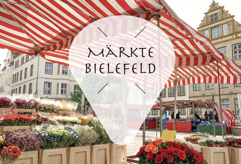 Wochenmarkt / Markt in Bielefeld
