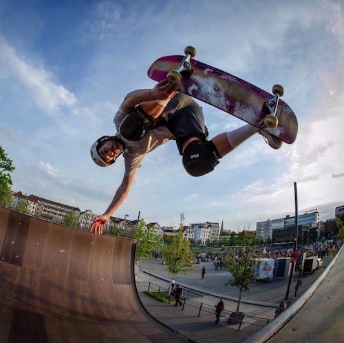 Skatepark beim Kesselbrink in Bielefeld