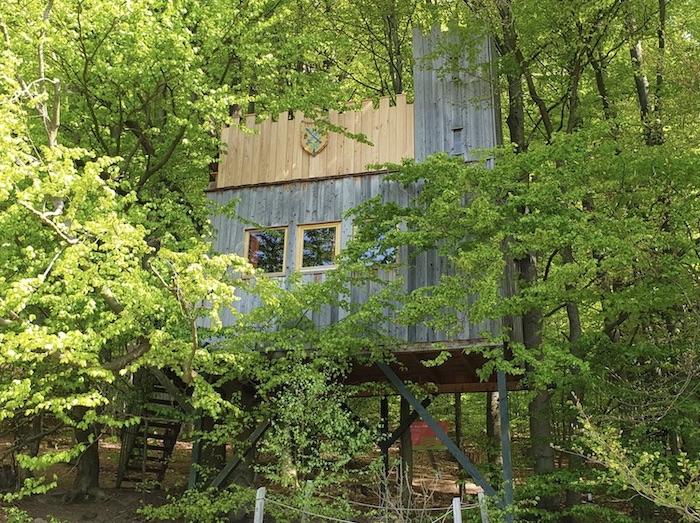 Baumhaus (Baumhaus Burg) Camping / Glamping in Bielefeld im Baumhaushotel Solling