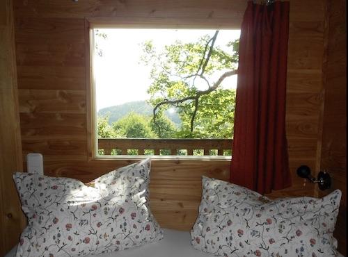 Baumhaus Camping / Glamping von Innen in Bielefeld im Baumhaushotel Solling