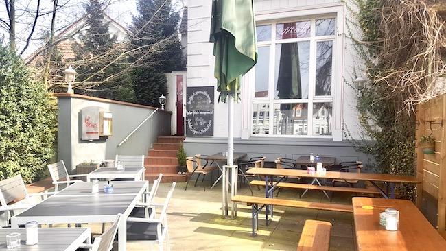 Terrasse Café Moritz in Schildesche Bielefeld