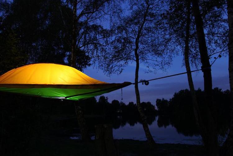 Schwebezelt und Urlaubs-Höhle Dingdener Heide Glamping Bielefeld und Umgebung