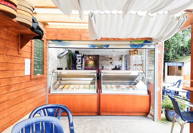 Garten Eis Café in Bielefeld Sieker