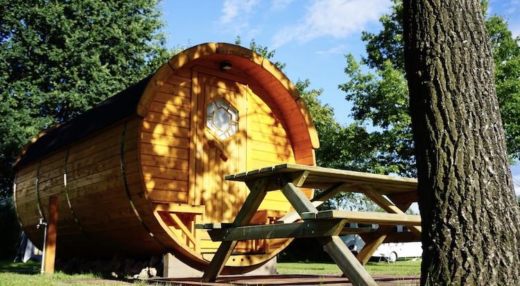 Heidekamp Campingfass Glamping Bielefeld und Umgebung