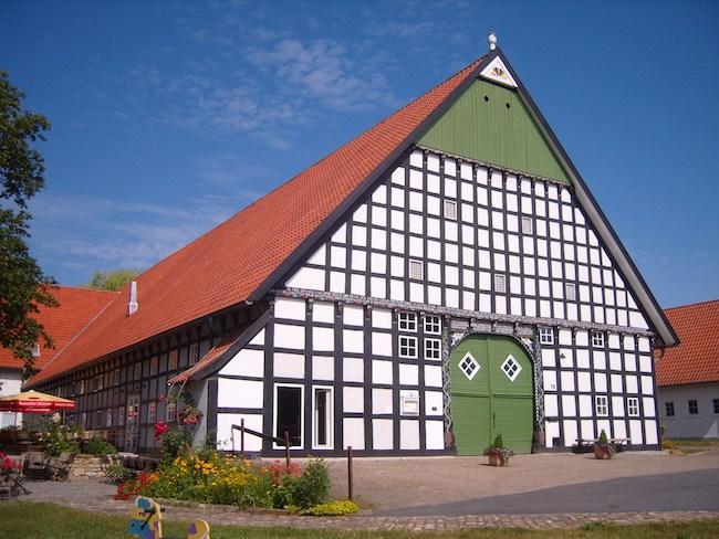 Terrasse Hofcafé zur Müdehorst (Babenhausen Süd / Niederdornberg) Bielefeld