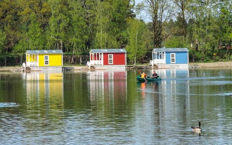 Seehaus mit eigener Seeterrasse in der Nähe Bielefelds