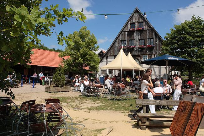 Terrasse Seekrug in Bielefeld