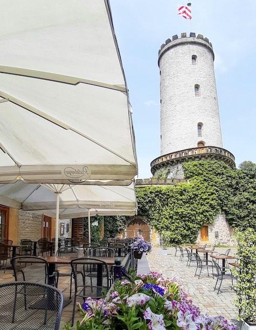 Beste Aussicht Bielefeld vom Sparrenburg Restaurant