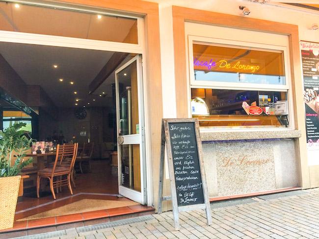 Eis café De Lorenzo in Bielefeld Zentrum