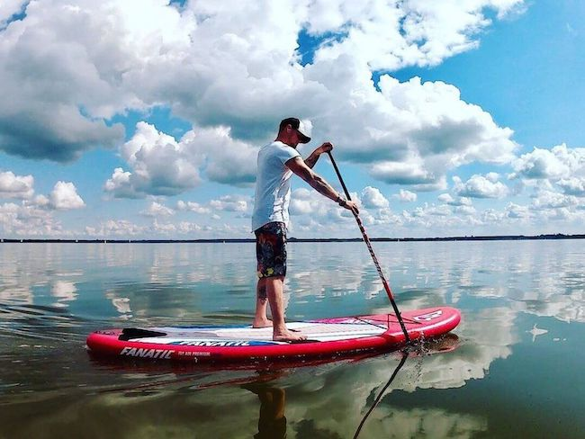 STAND-UP PADDLING (SUP) AM STEINHUDER MEER