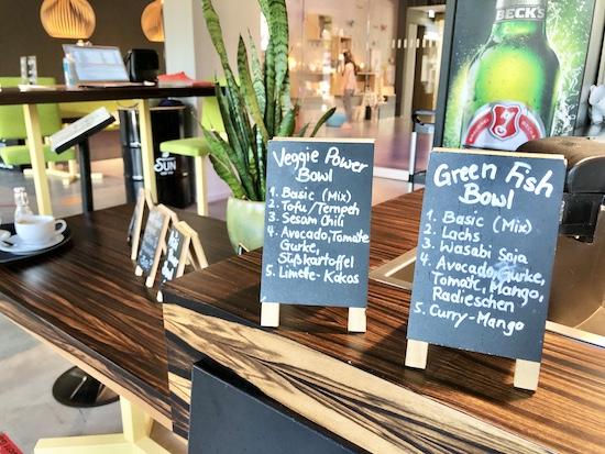 Vegan essen in der Green bowl in Bielefeld