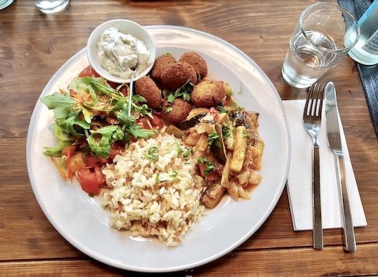 Vegan essen im Nohut in Bielefeld
