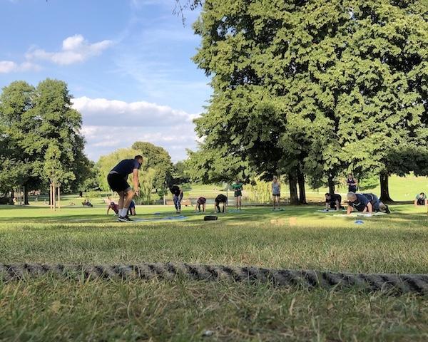 Sport im Bürgerpark Bielefeld