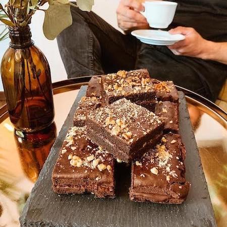 Café Kleines Glück vegane Brownies