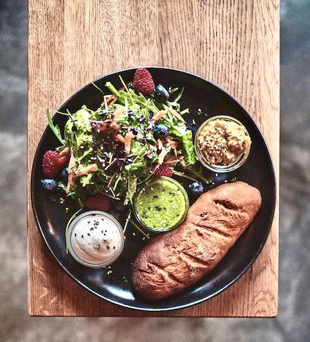 Vegan essen in der good hood in Bielefeld