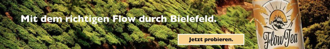 Flow Tea - Mit dem richtigen Flow durch Bielefeld