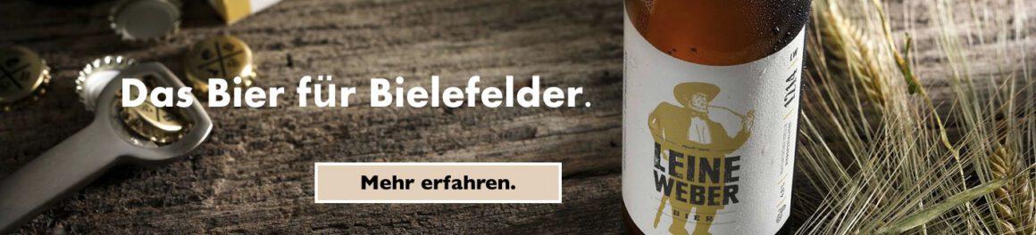 Leineweber Bier Bielefeld-Guide Partner