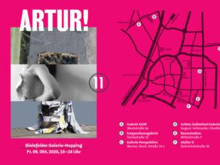 ARTUR!11 Kunst-Galerie-Hopping