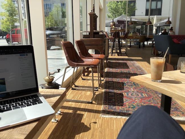 Cafés in denen man gut arbeiten oder lernen kann in Bielefeld