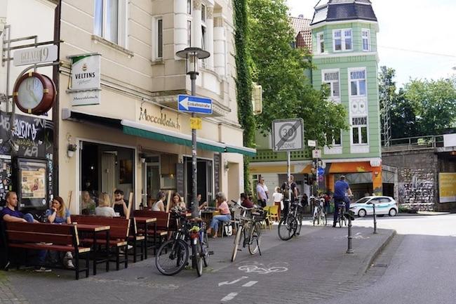 DIE TERRASSE DES MOCCAKLATSCH. Cafés in denen man gut arbeiten oder lernen kann in Bielefeld