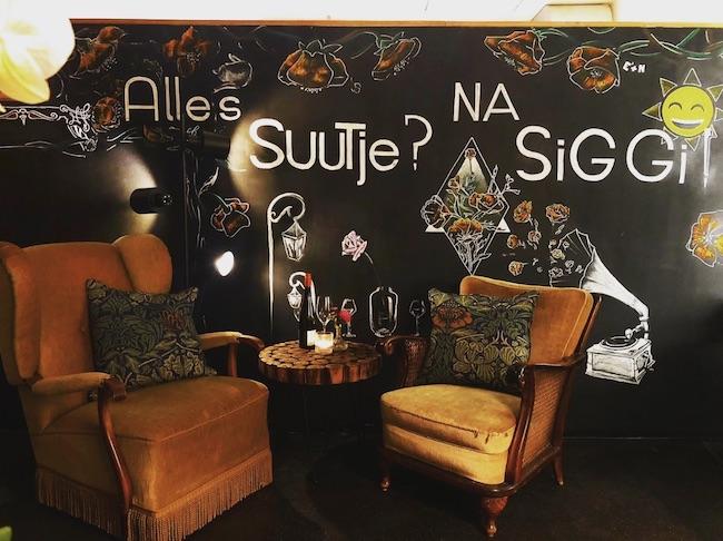 SUUTJE AM SIEGFRIEDPLATZ. Cafés in denen man gut arbeiten oder lernen kann in Bielefeld