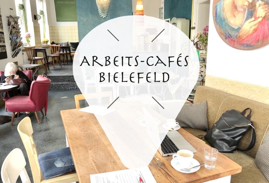 Cafés in Bielefeld in denen man mit seinem Laptop arbeiten kann.