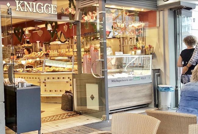 Glühwein to-go in bielefeld bei Knigge