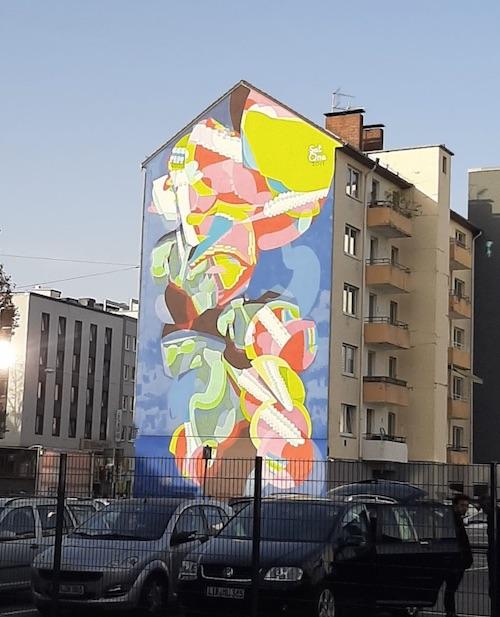 Mural in Bielefeld