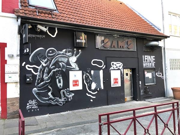 Club Sams street-art